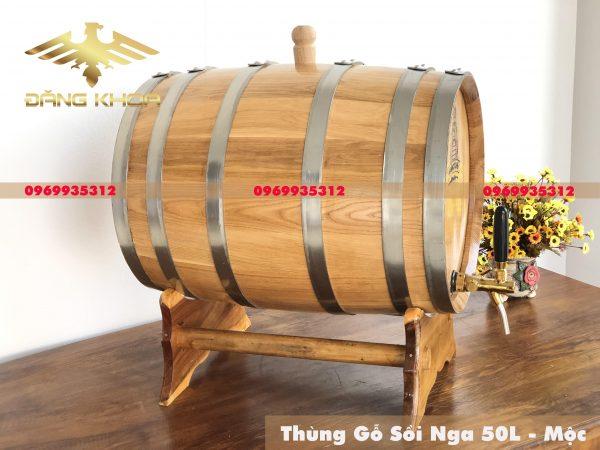 Xưởng sản xuất thùng gỗ sồi