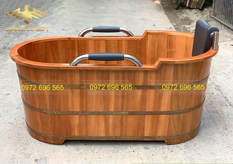 Đôi nét về sản phẩm bồn tắm gỗ sồi bọc da cao cấp
