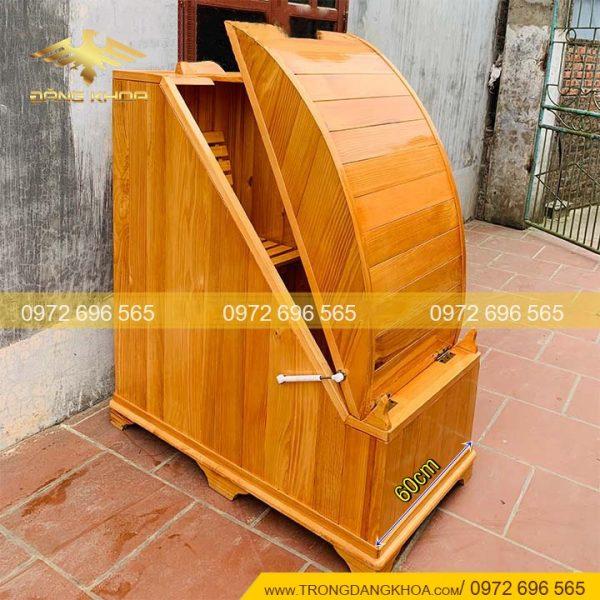 Cabin buồng gỗ xông hơi mini