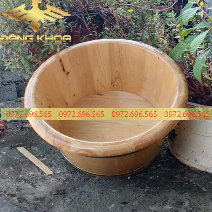 Công dụng của chậu gỗ bo viền