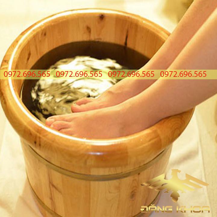 Đơn vị cung cấp bồn gỗ ngâm chân chất lượng, uy tín.