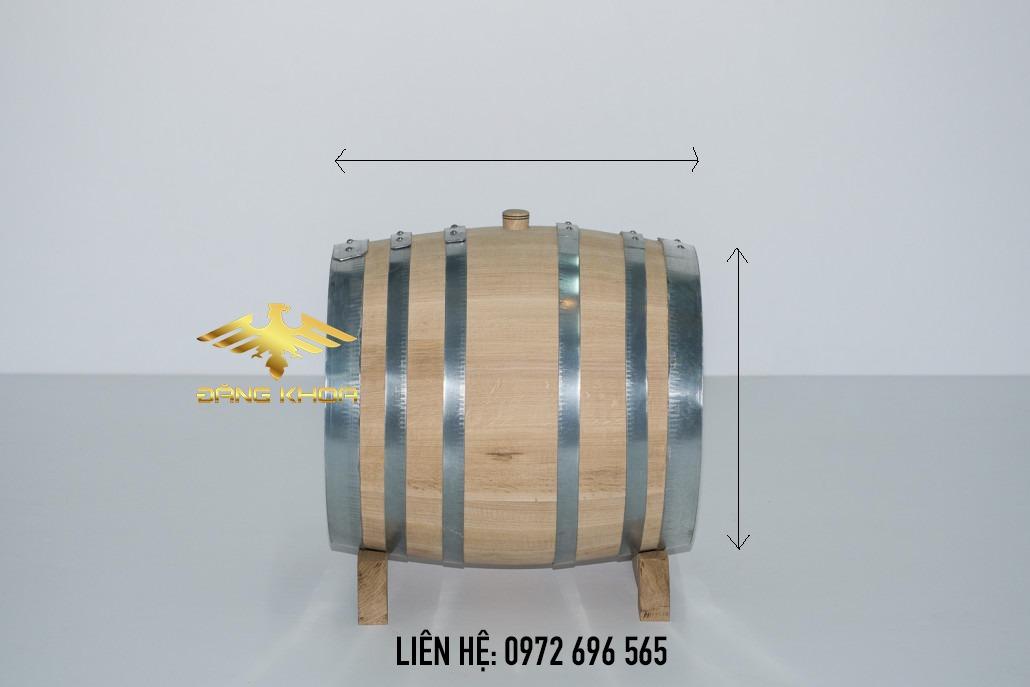 Kiểm tra và chọn mua thùng gỗ sồi nhập khẩu tại Đăng Khoa