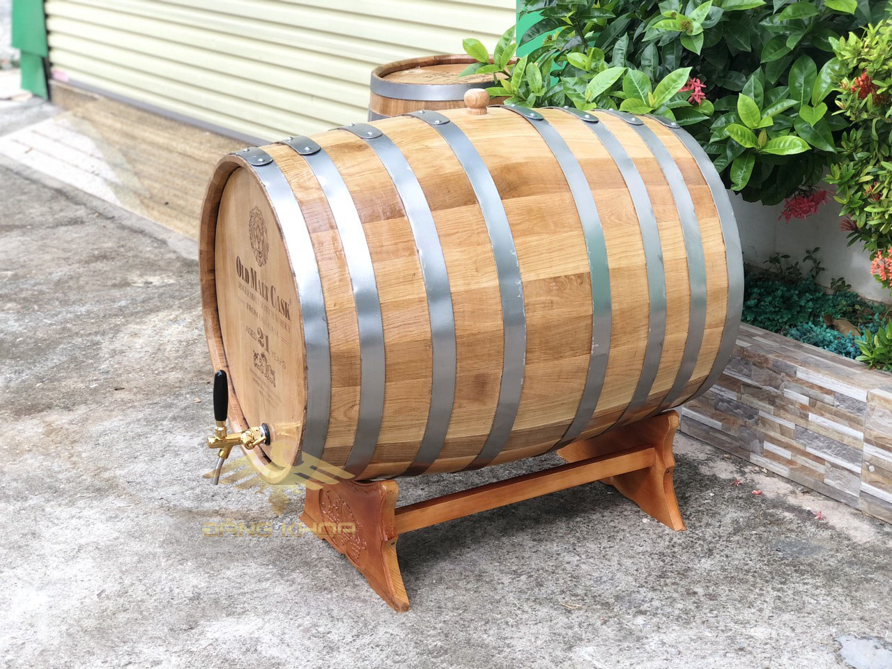 Báo giá thùng gỗ sồi mới nhất
