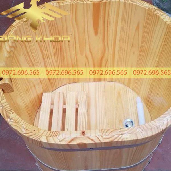 Bồn tắm gỗ Mini giá rẻ 2020