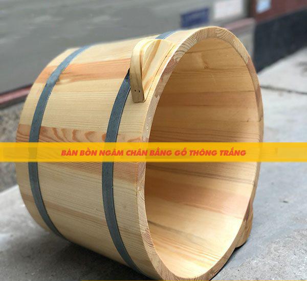 Vì sao nên lựa chọn bồn ngâm chân bằng gỗ?