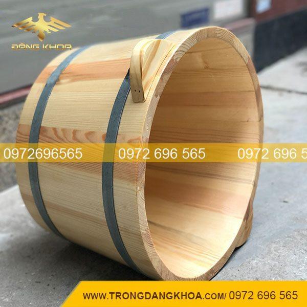 Thùng gỗ xông hơi đầu