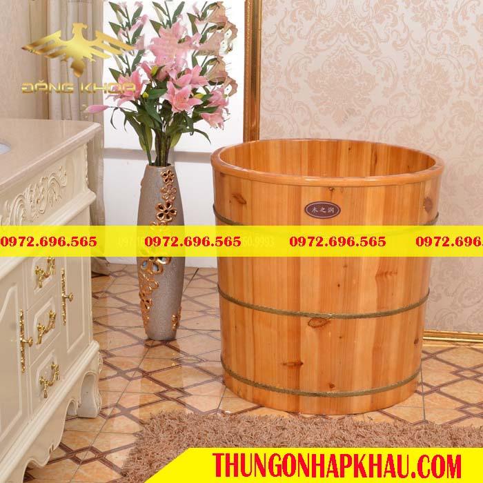 Bồn tắm gỗ giá báo nhiêu