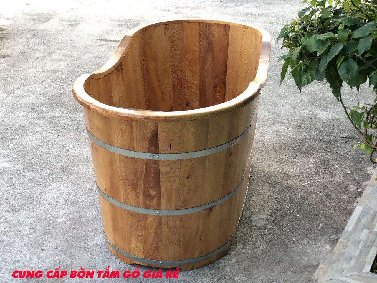 Bồn tắm gỗ giá rẻ tại Hà Nội