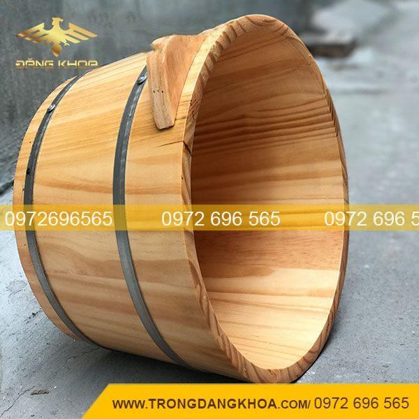 Bán chậu gỗ ngâm chân cao cấp tại Hà Nội