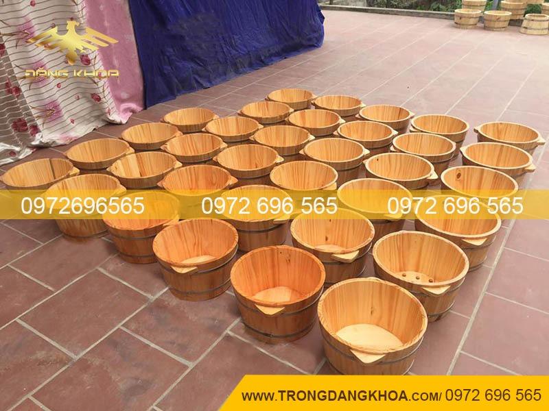 Chậu gỗ ngâm chân tại Hà Nội đem lại lợi ích đáng ngạc nhiên