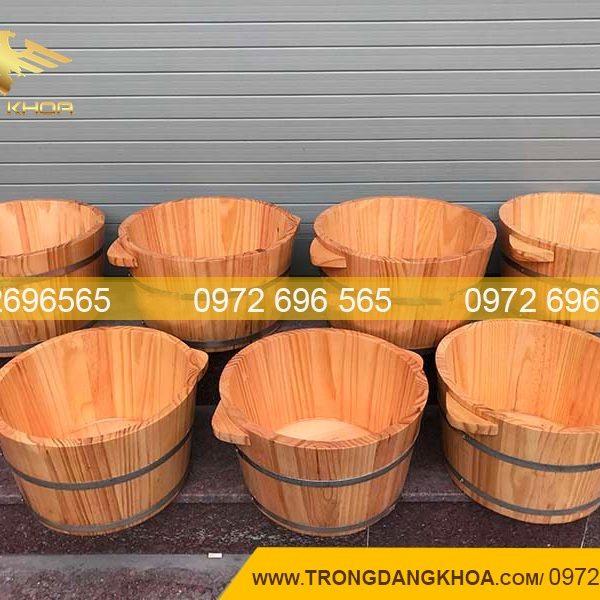 sản xuất thùng gỗ