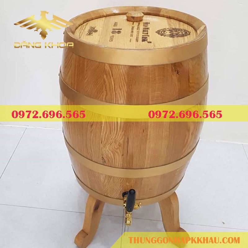 Chọn mua thùng gỗ sồi tại Trống Đăng Khoa