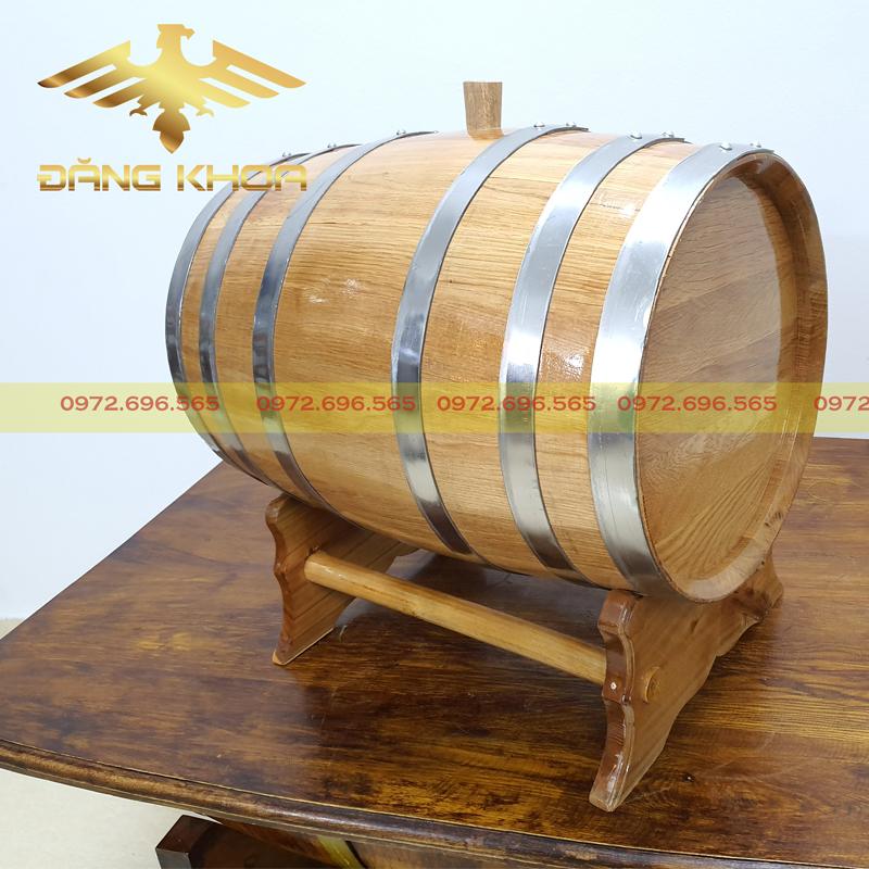 Thùng rượu gỗ sồi chính hãng ngày giáp Tết
