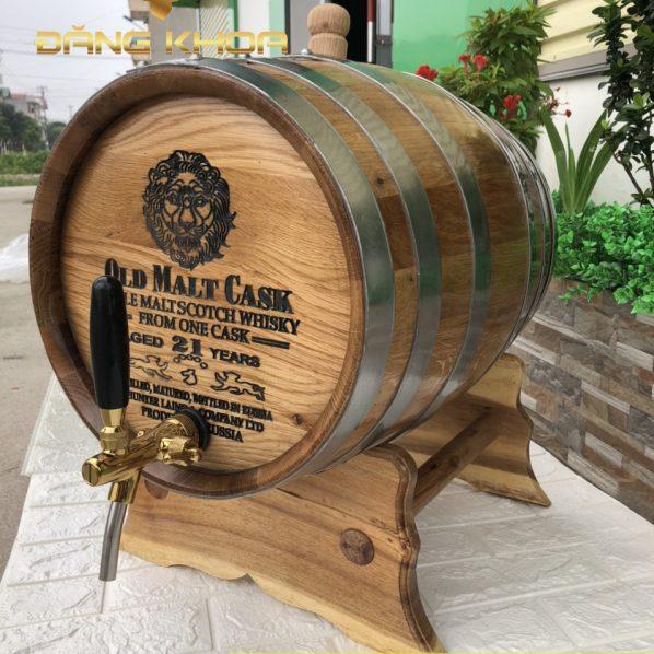 Thùng rượu gỗ sồi 20 lít