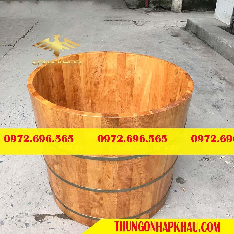 Công dụng tuyệt vời của bồn tắm gỗ sồi