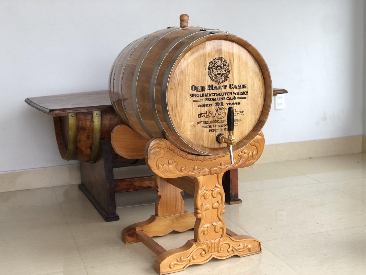 Bán thùng rượu gỗ sồi chính hãng Hà Nội giá rẻ