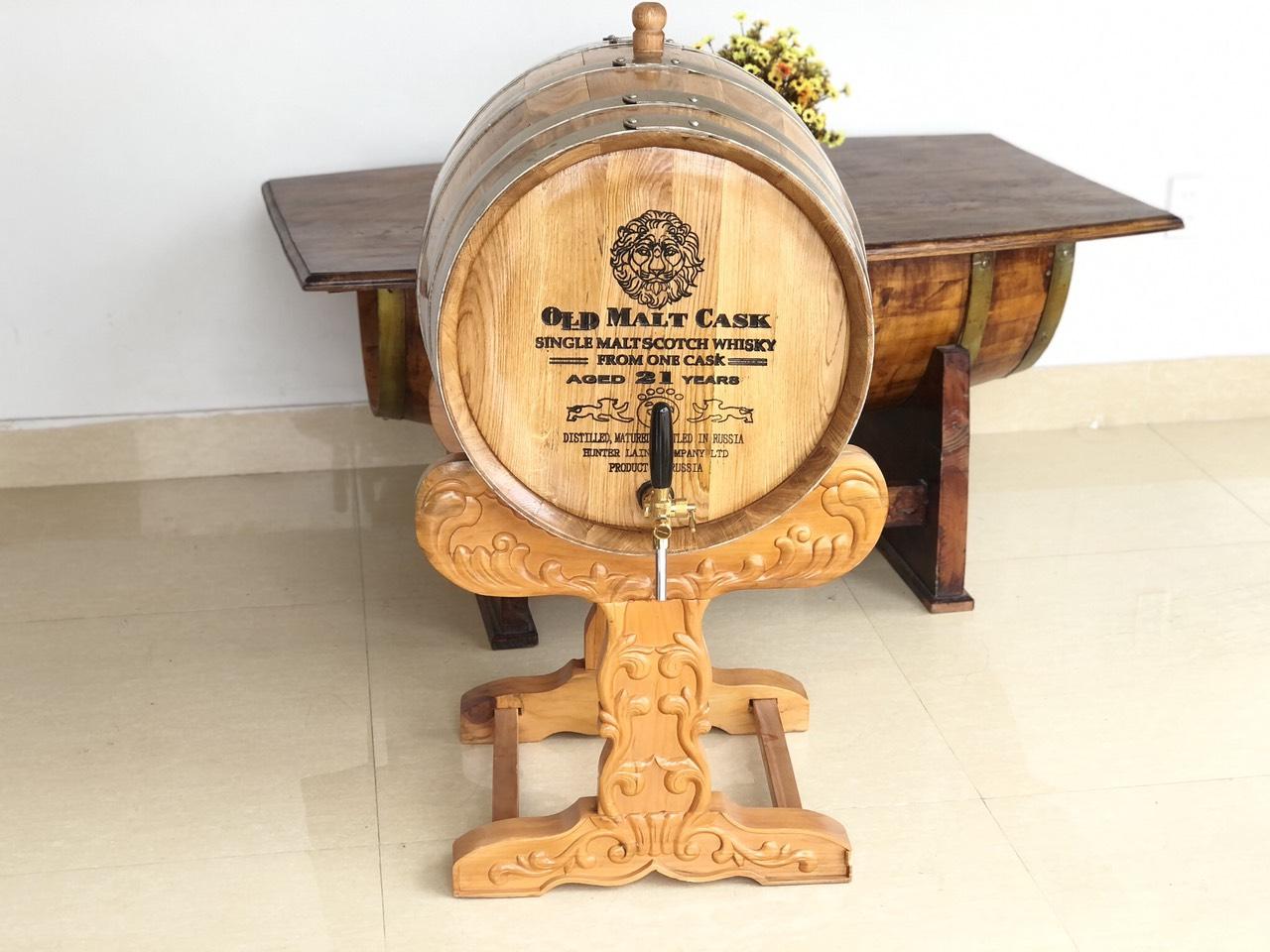 Thùng rượu gỗ nhập khẩu