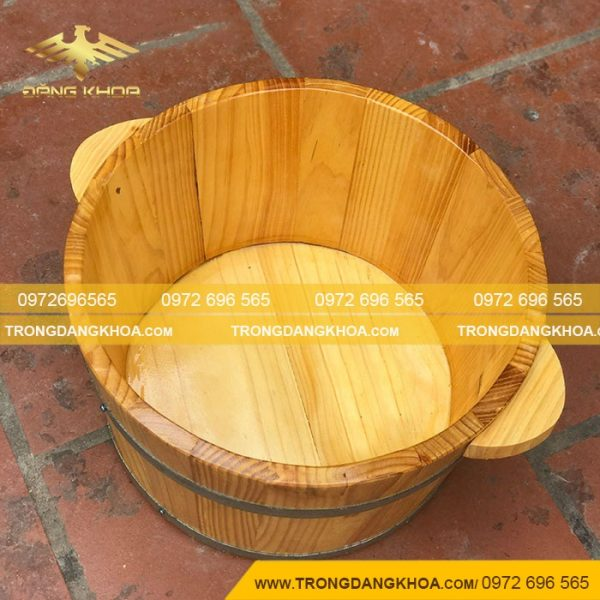 Các loại bồn ngâm chân gỗ