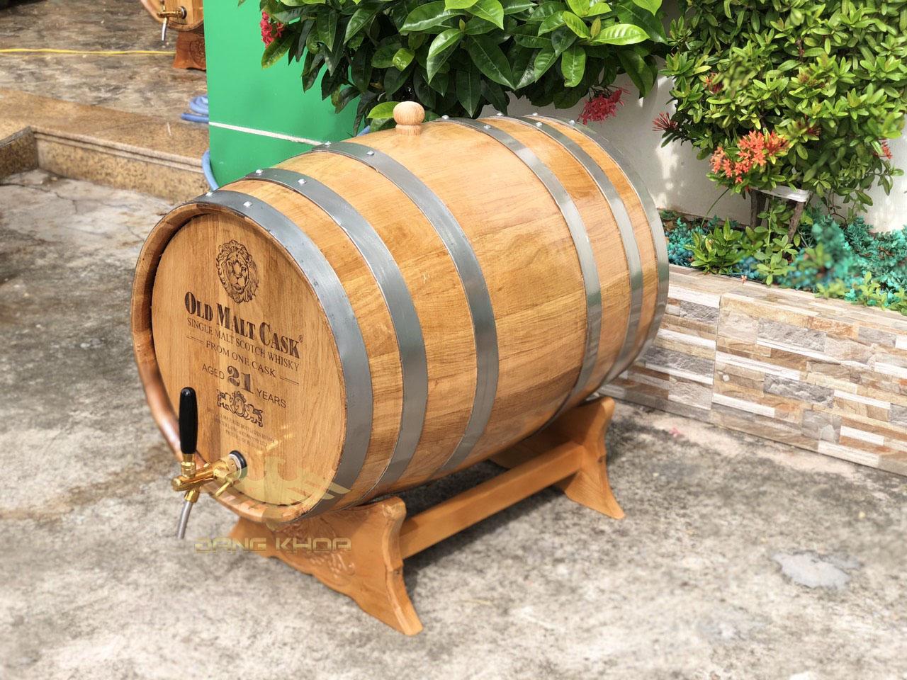 Báo giá thùng gỗ sồi