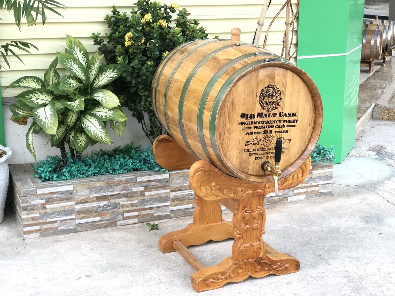 Địa chỉ bán thùng rượu gỗ sồi chất lượng