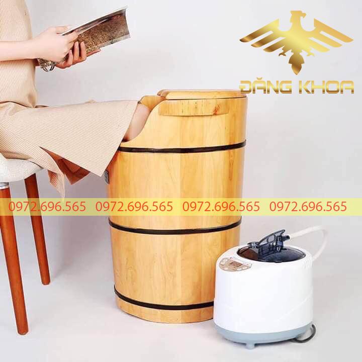 Chậu ngâm chân gỗ giá rẻ tại Hà Nội