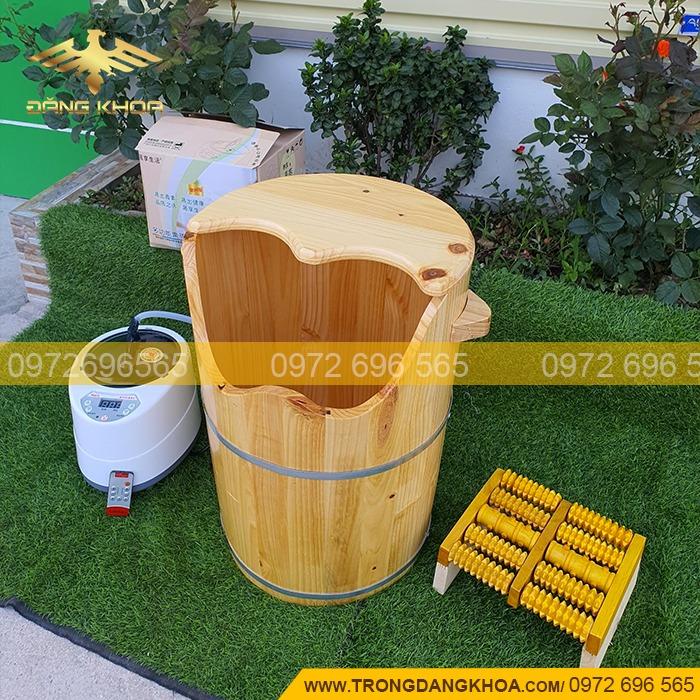 Bán chậu gỗ ngâm chân đẹp tại Hà Nội
