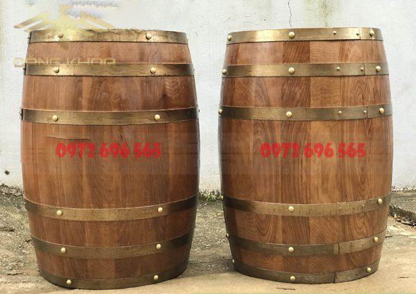 Thùng gỗ sồi đựng rượu 100l