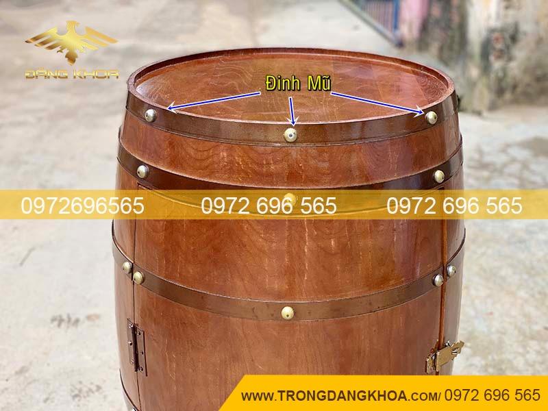 Bán thùng rượu gỗ trang trí tại Hà Nội