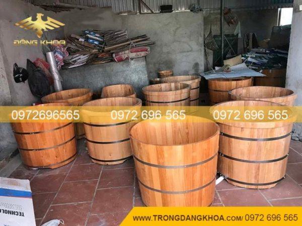Thùng gỗ sồi tại Thùng gỗ nhập khẩu
