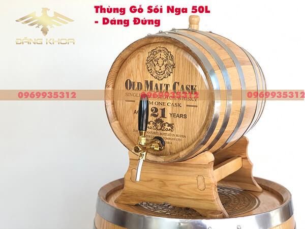 Thùng Rượu Sồi Nga 30l