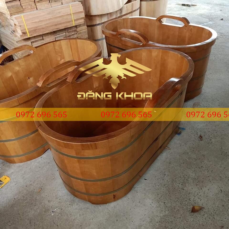 Bồn tắm gỗ Pơ-Mu có tác dụng lớn đối với sức khỏe