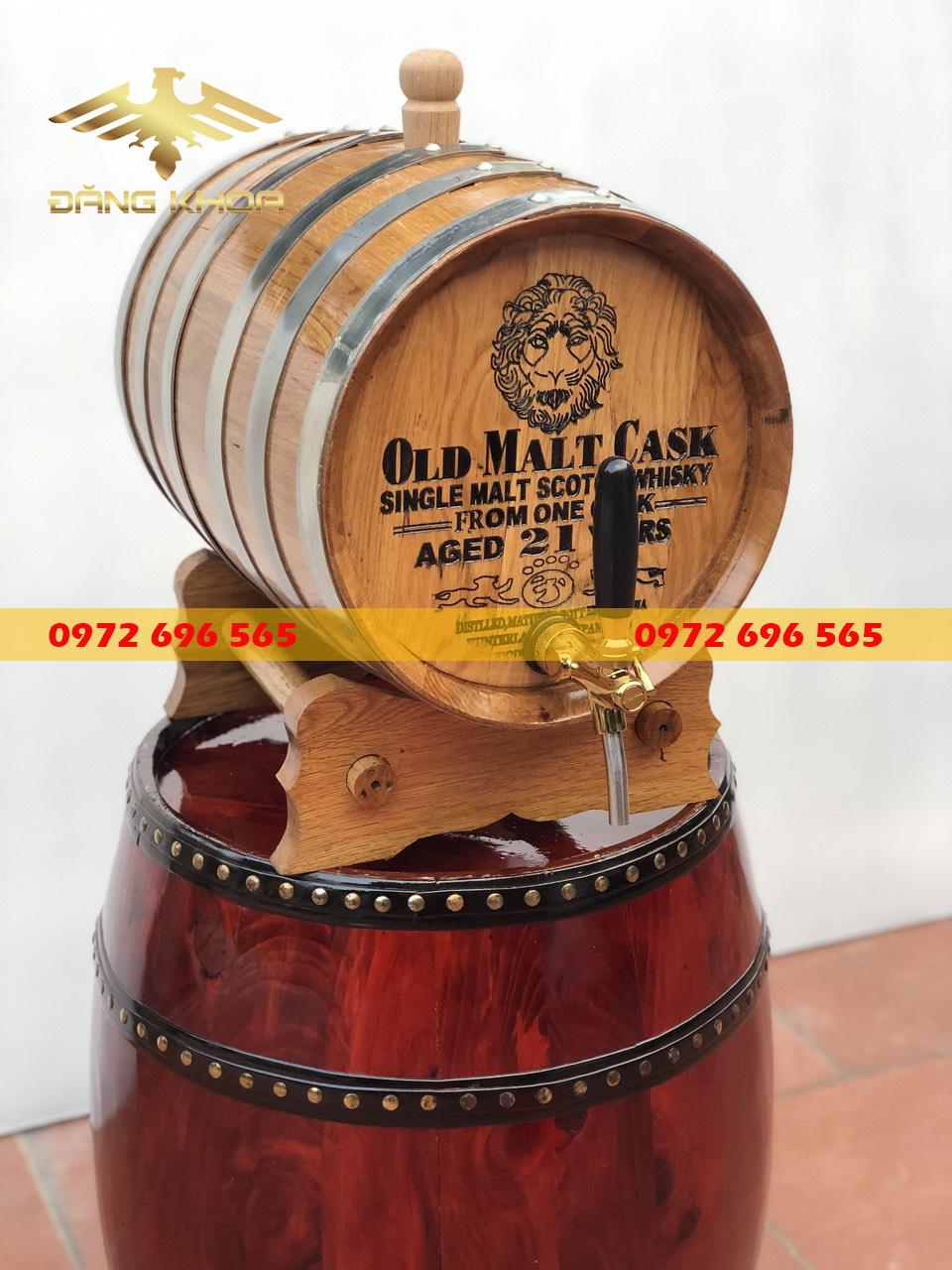 Mua thùng gỗ sồi đựng rượu uy tín tại Hà Nội