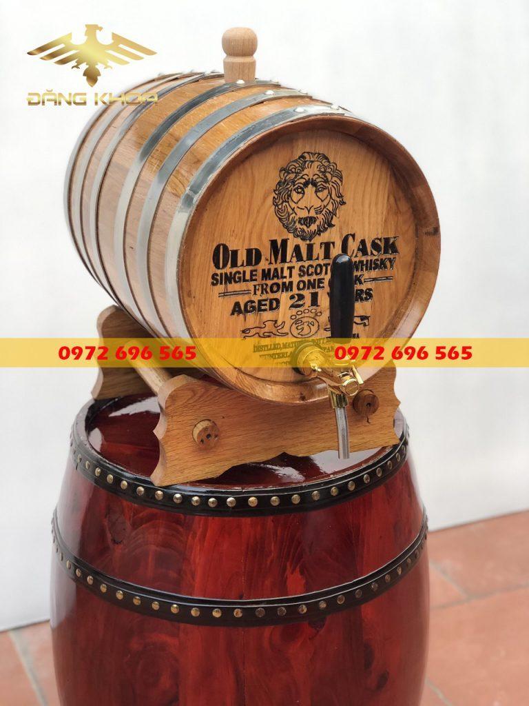 Đặc điểm thùng rượu gỗ sồi 20l