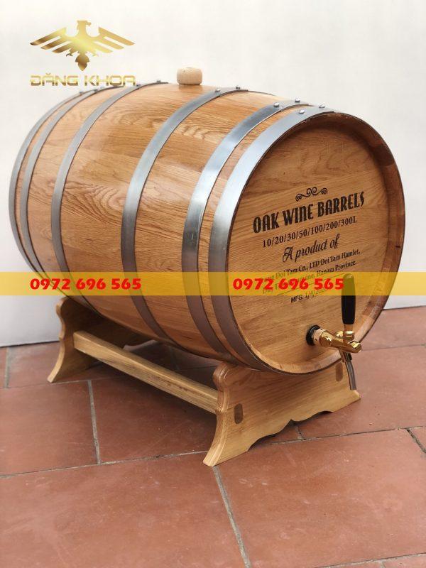 Nguồn gốc của thùng gỗ sồi ngâm rượu