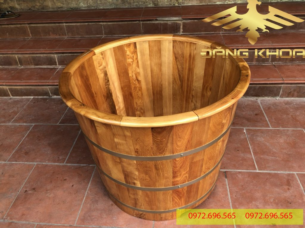Có nên sử dụng bồn tắm làm từ gỗ sồi không?