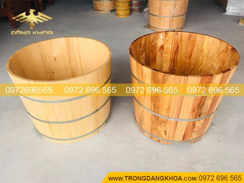 Bồn tắm gỗ giúp tinh thần thoải mái, kích thích trí não