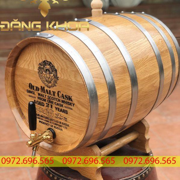 Những lợi ích thùng gỗ sồi đem lại cho rượu Whiskey