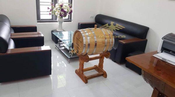 Thùng gỗ sồi ủ rượu 100l dùng trong dịp gì?