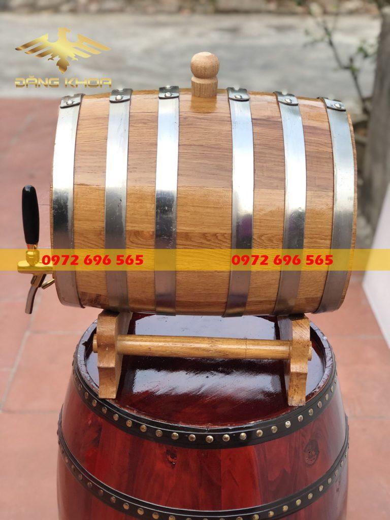 Mua bán bom đựng rượu gỗ sồi Đăng Khoa