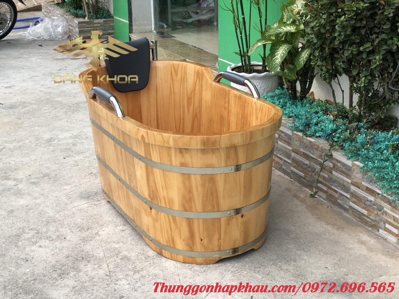 Báo giá bồn tắm gỗ Đăng Khoa