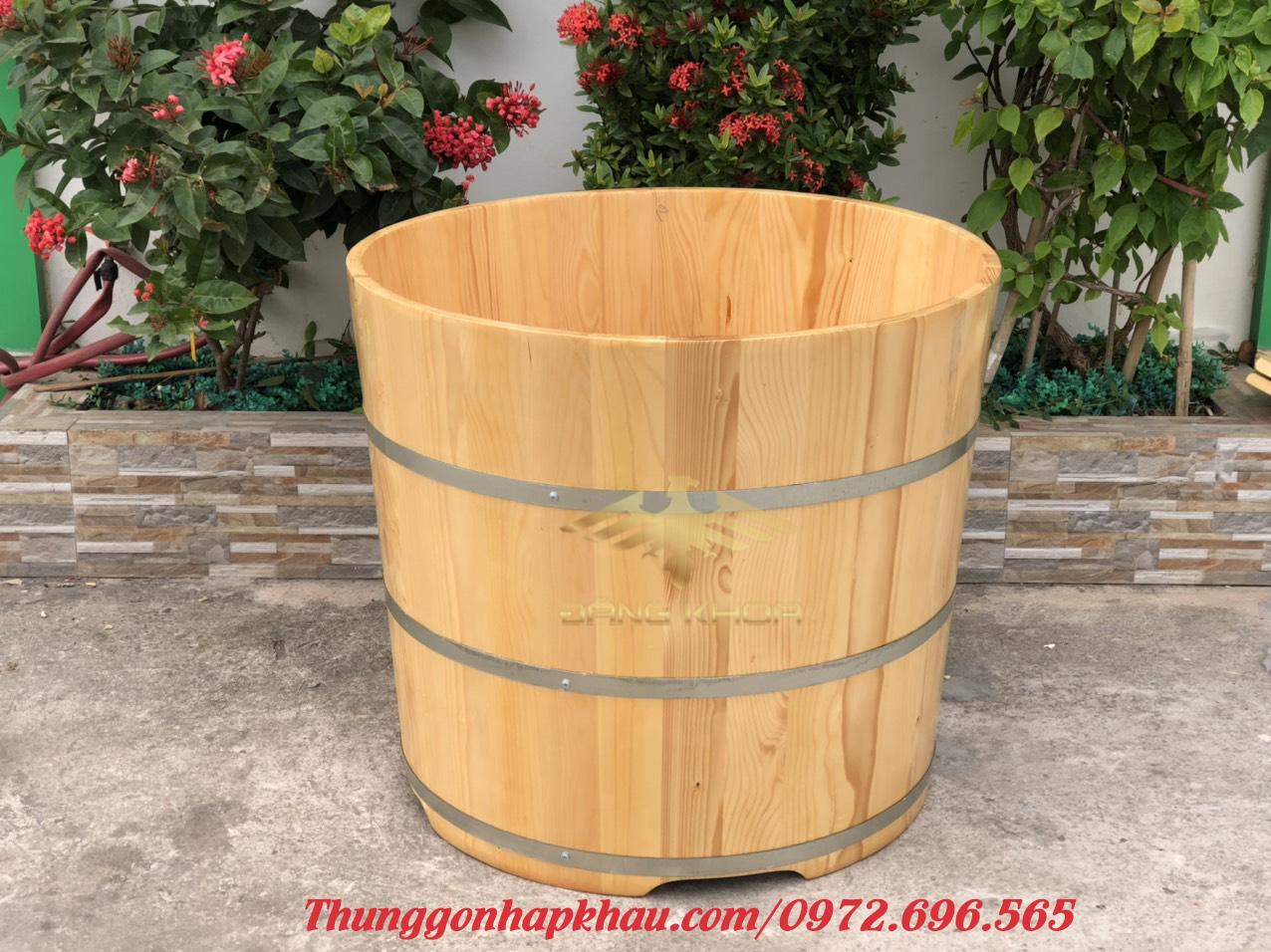 Bồn tắm gỗ cao cấp đẹp