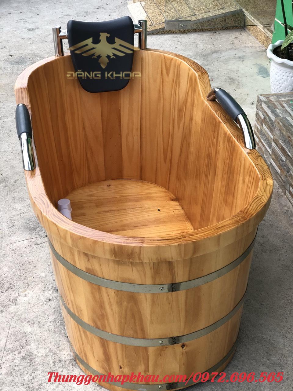 Bán bồn tắm gỗ giá bao nhiêu
