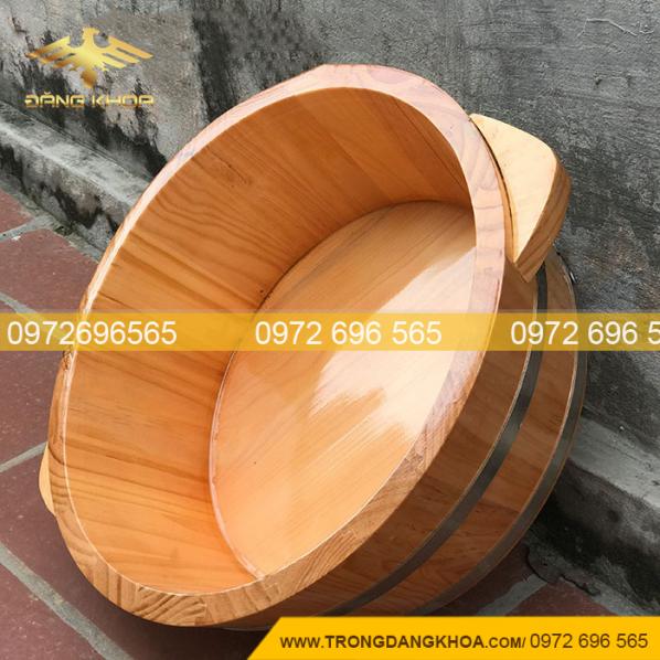 Chậu gỗ rửa mặt mới nhất tại Trống Đăng Khoa