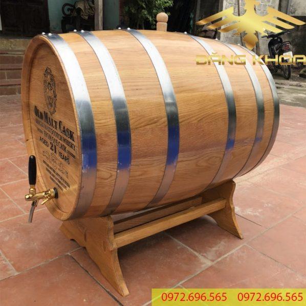 Bán thùng gỗ sồi nhập khẩu cao cấp 2021