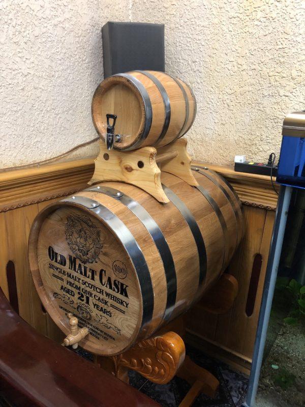 Bán thùng gỗ sồi đựng rượu tốt nhất