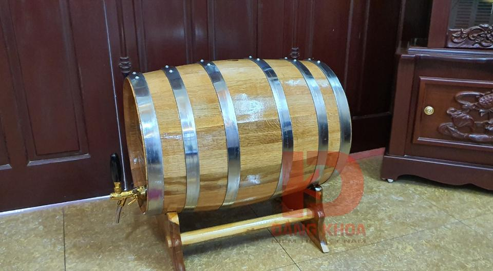 Thùng gỗ sồi 20l chính hãng tại Thùng gỗ nhập khẩu