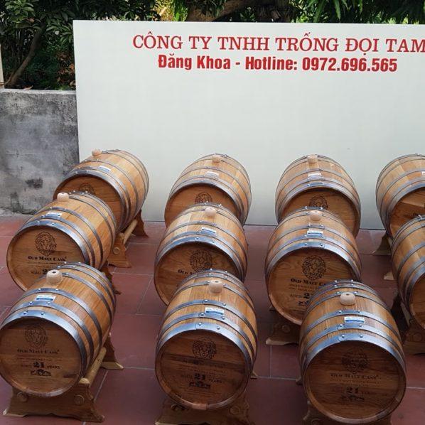 Bán thùng gỗ sồi 20l chất lượng cao