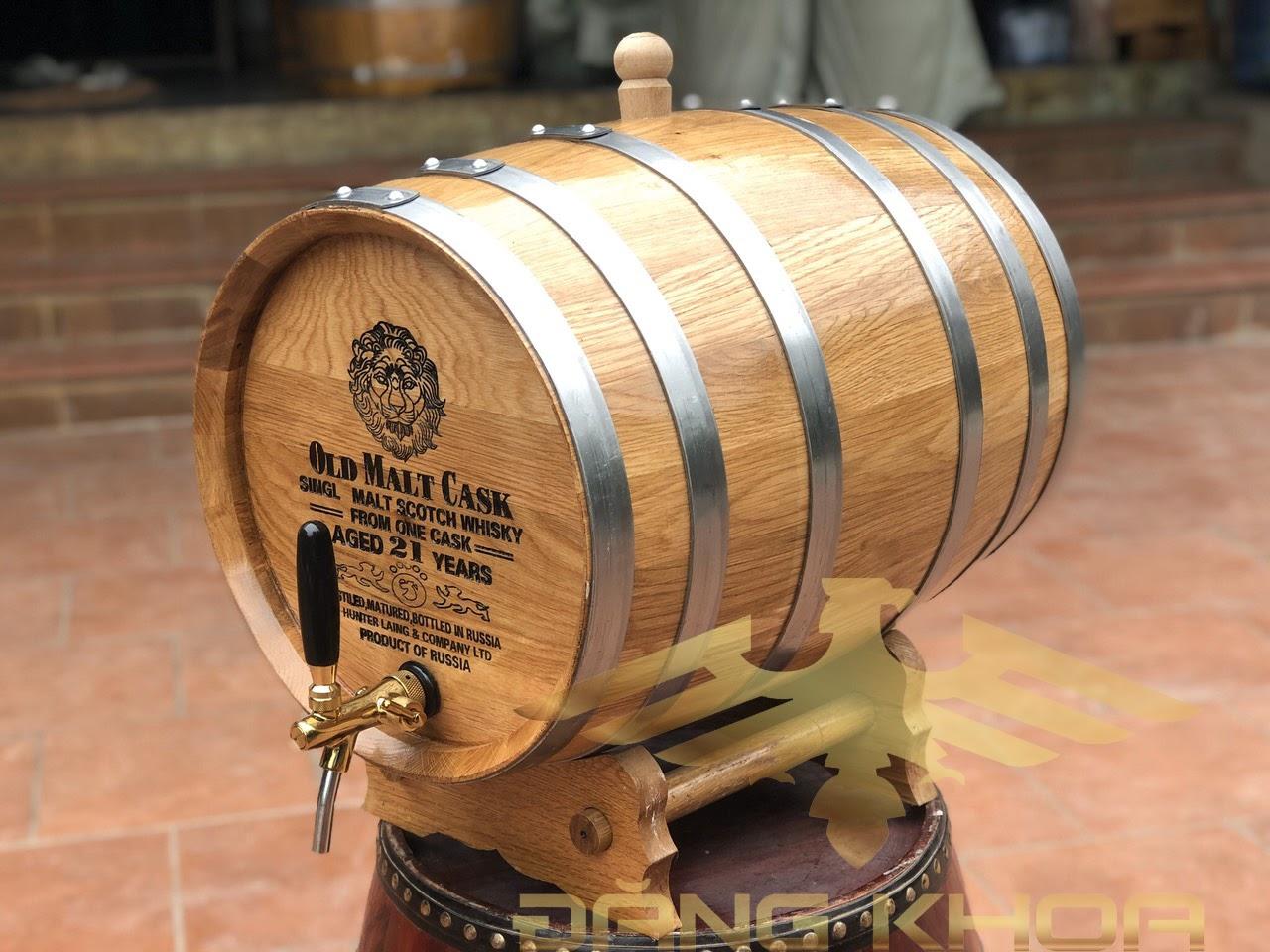 Quá trình ngâm rượu bằng gỗ sồi theo đúng tiêu chuẩn