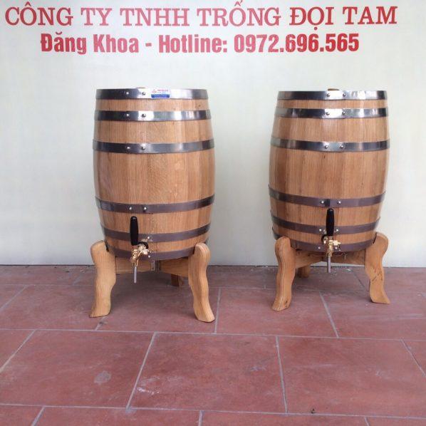 Bán thùng gỗ sồi Hà Nam cao cấp