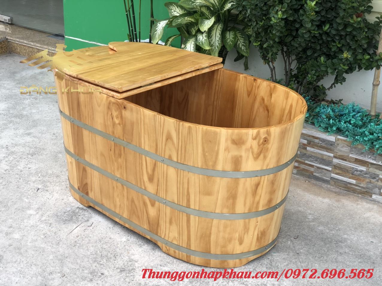 Bồn tắm gỗ đẹp